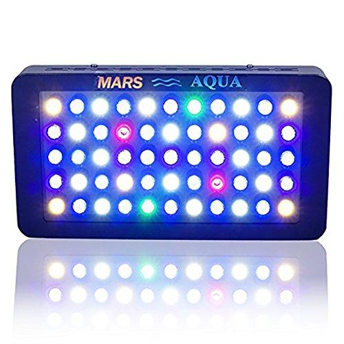 MARS HYDRO MarsAqua 165w Dimmable LED Aquarium Beleuchtung für Fisch Riff Korallen und LPS SPS...