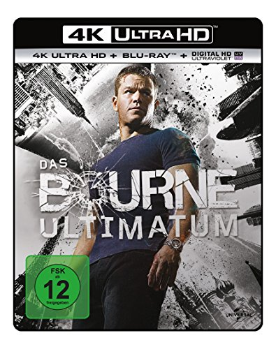 Das Bourne Ultimatum  (4K Ultra HD) (+ Blu-ray) [Blu-ray]
