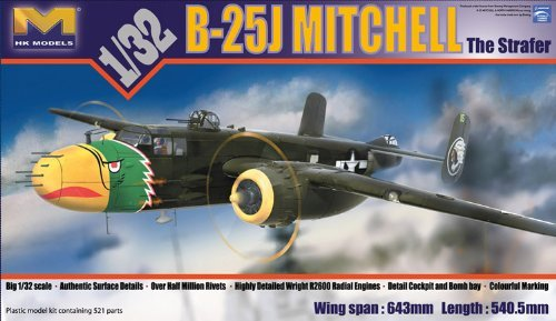 HKM01E02 1:32 HK Models B-25J Mitchell Strafer