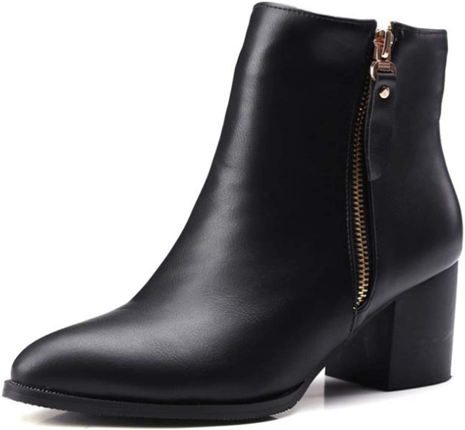 Quality.A Autumn and Winter New Martin Boots Elegant Women's Boots with Ankle Boots