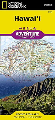 Hawaii (National Geographic Adventure Map, 3111)