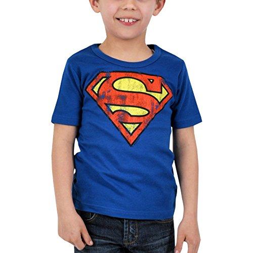 Logoshirt Camiseta para niños con logotipo de Superman