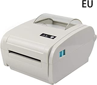 cutewarehouse Shipping Label Printer USB Interface Support Two-Dimensional Code Barcode Thermal Label Printer Receipt Printer Shipping Speed 160mm/s