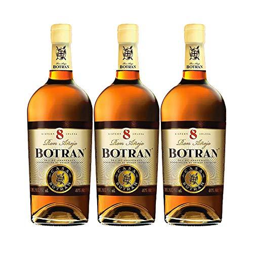 Ron Botran 8 de 70 cl - D.O. Guatemala - Bodegas Gonzalez Byass (Pack de 3 botellas)
