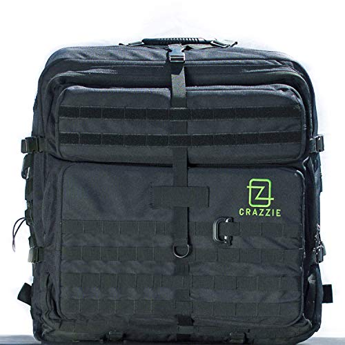 CRAZZIE GTR-1 PC Tower Backpack デスクトップPC対応バッグ 【日本正規代理店保証品】 CPG1-GTR