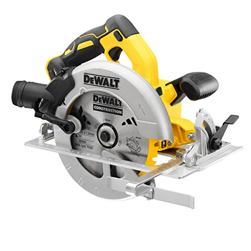 DEWALT DCS570N Cordless XR Brushless Circular Saw, 18 V, Yellow/Black/Grey, 184 mm