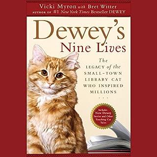 Dewey's Nine Lives audiobook cover art