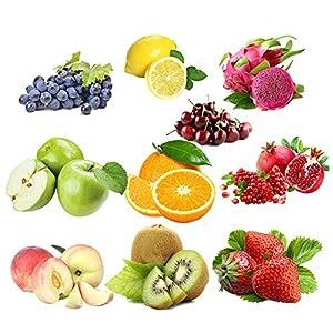 CER0T Egrow semillas de frutas 10 variedades mezcladas semillas orgánicas Árbol frutal Semilla de plantas Dulce Fruta confitada no GMO