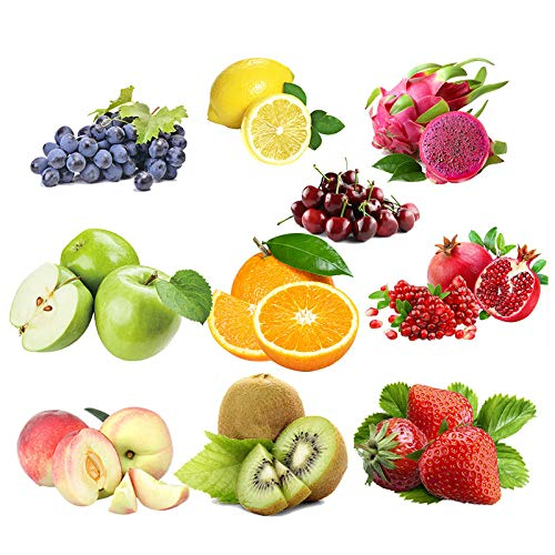 KINGDUO Egrow 10 Sorten Gemischt Samen Bio-Obst Obstbaum Samen Süße Kandierte Früchte Gvo-Saatgut