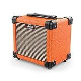 Amplificateur Ampli De Guitare Acoustique Ampli Guitare Guitare Amplificateur 10 W Portable Amplificateur Président Accepter 1/4'Guitare Cable synthetic plastic Orange, by LC Prime