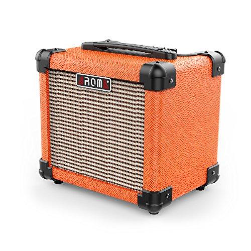 Aroma Guitar Amp 10W Mini Portable Amplifier Speaker Accept 1/4' Guitar...