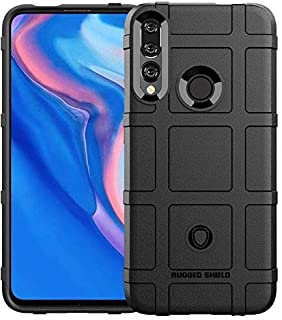 For Huawei Y9 Prime 2019 Rugged shield Black Hybrid PC Case Cover