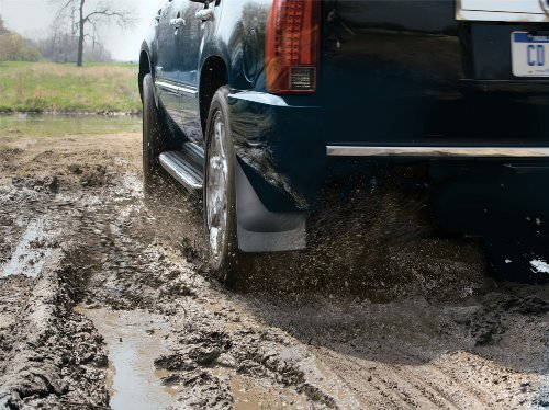 WeatherTech No-Drill Mud Flap for Select Cadillac Escalade/Chevrolet Avalanche Models