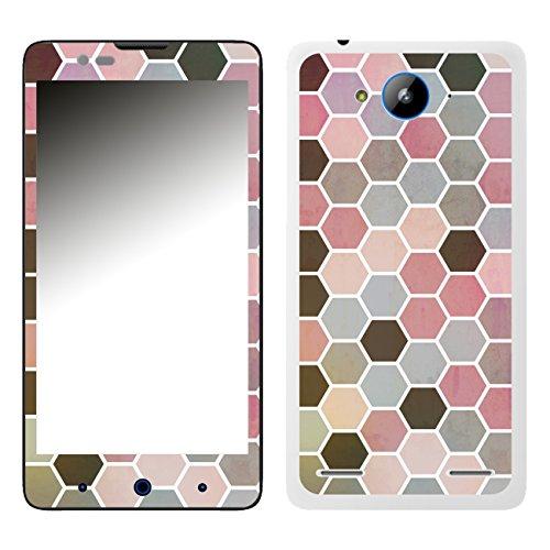 Disagu SF-106526_1204 Design Folie für ZTE Blade L3 Plus - Motiv Polygone 01
