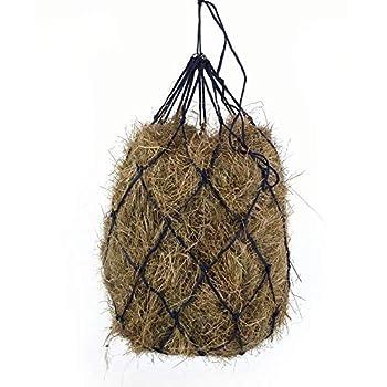 B BLOOMOAK Horse Hay Net 40  Slow Feeder Hay Bag Equestrian Feeding Supplies  Black   1 pcs