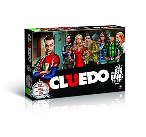 Cluedo The Big Bang Theory - Das beliebteste Detektiv-Spiel der Welt trifft auf die cleveren Nerds! (Deutsch)