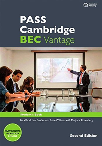 PASS Cambridge BEC Vantage, Student's Book mit 2 Audio-CDs (2nd Edition)