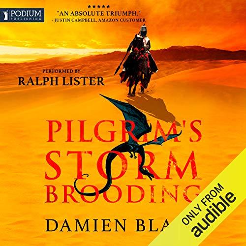 Pilgrim's Storm Brooding audiobook cover art