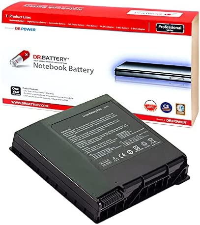 DR. BATTERY A42-G74 Laptop Battery Compatible with Asus G74SX G74S G74JH G74SW G74 G74J LC42SD128 [14.4V/4400mAh/63Wh]