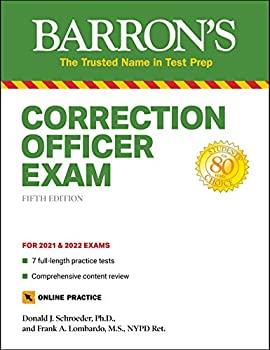 Correction Officer Exam  with 7 Practice Tests  Barron s Test Prep