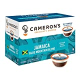 Cameron's Specialty Coffee Jamaica Blue Mountain Blend Single Serve Pods, 12 count