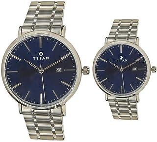 Titan Modern Bandhan Analog Blue Dial unisex Watch 9400294202SM01/NN9400294202SM01