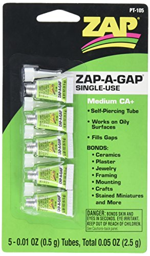 Produktbild Pacer Technologie (ZAP) Einmalhandschuhe Mini Tube Kleber (5 Stück)