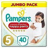 Pampers Premium Protection Pants Größe 5, 2er Pack (2 x 40 Stück)