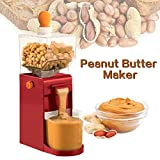 110V/220V電気ピーナッツバターメーカー、耐久性のある素材を使用、500MLピーナッツソースとゴマソースグラインダー、コーヒーコーンピーナッツカシューヘーゼルナッツ穀物用