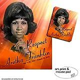 1art1 Aretha Franklin, Respekt 1 Poster Kunstdruck (80x60