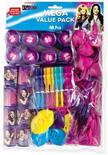 iCarly Favor Pack 48 Pieces by Fun To Collect