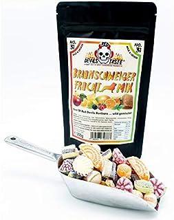 Braunschweiger Frucht Mix Bonbons wild gemischt - nicht scharf - Hotskala: 0 - RED DEVILS TASTE