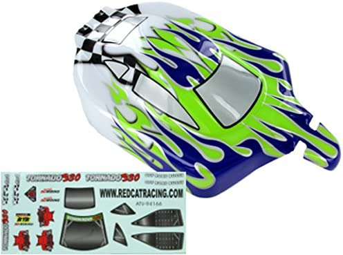 Redcat Racing Buggy Limited Special Price Body 1 10 Scale Purple Green White Flame price