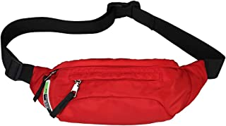 Vibola Waist Pack Zipper,Leisure Shopping Travel Canvas Fanny Packs Crossbody Chest Bag Versatile Messenger Shoulder Pouch