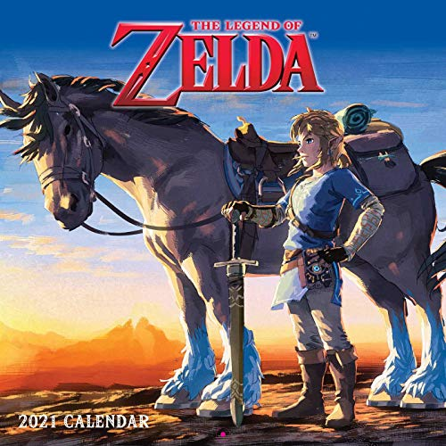 The Legend of Zelda 2021 Wall Calendar