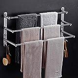 Toallero estante toallero SUS304 acero inoxidable toalla...
