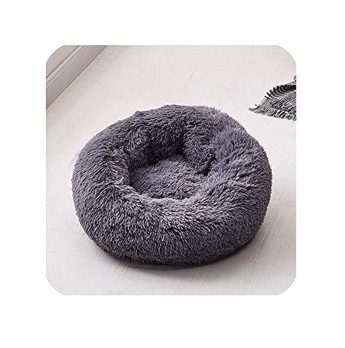 Findm Store Haustierbett Schöne Warmes Hundebett S, M, L, XL,XXL für Hund und Katze Katzenbett Hundekissen Katzenkissen Weichem Kissen in Doughnut-Form,rund, Nisthöhle