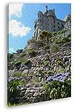 deyoli St. Michael Burg in Cornwall Effekt: Zeichnung im