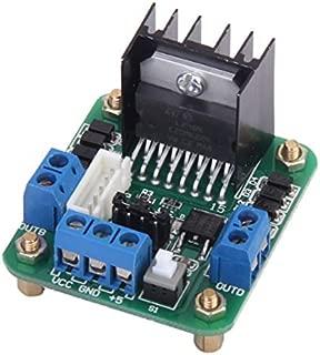 PIXNOR L298N Dual H-Bridge Stepper Motor Driver Controller Board Module (Green)