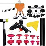 Kit de herramientas de eliminación de abolladuras sin pintura Conjunto de extractor de puente de elevador de abolladuras para reparación de daños por granizo de automóviles y golpes de puertas-tipo 2