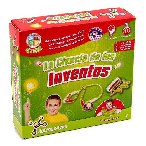 Science4you-La Ciencia de Los Inventos Juguete Científico y Educativo Stem para...