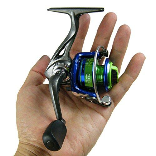 QualyQualy Mulinello da Pesca Mini Grandis Yolo GD900 Light Mulinello da Spinning Alluminio