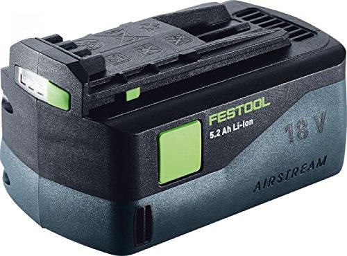 Festool Akkupack 18V BP 18 Li 5,2 AS, 100 W, 18 V, schwarz