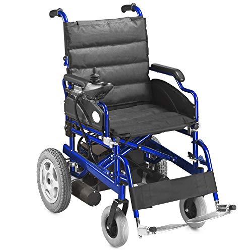 AIESI Sedia a rotelle elettrica pieghevole per disabili ed anziani AGILA...