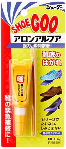 [シューグー] アロンアルファ 瞬間接着剤 靴底のはがれ シューグー クリア Free