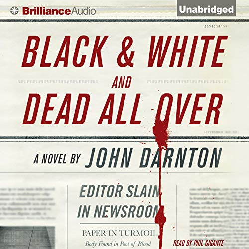 Black and White and Dead All Over cover art