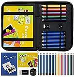 LUCYCAZ Drawing Pencil Set Sketchbook Kit,...