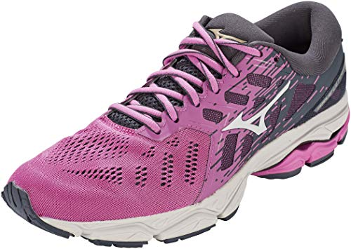 Mizuno Wave Ultima 12 (W), Zapatillas de Running Mujer, Ibis Rose/White/India Ink, 37 EU