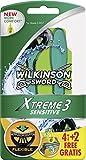 Wilkinson Sword Xtreme 3 Sensitive 4 + 2