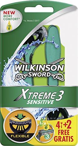 Wilkinson Sword Xtreme 3 Sensitive Einwegrasierer Damen, 6 St